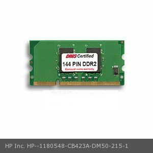 144 Pin 16 Chip (DMS Compatible/Replacement for HP Inc. CB423A LaserJet Pro 400 M451dn 256MB DMS Certified Memory 16 Bit  DDR2 144 PIN SODIMM - DMS)