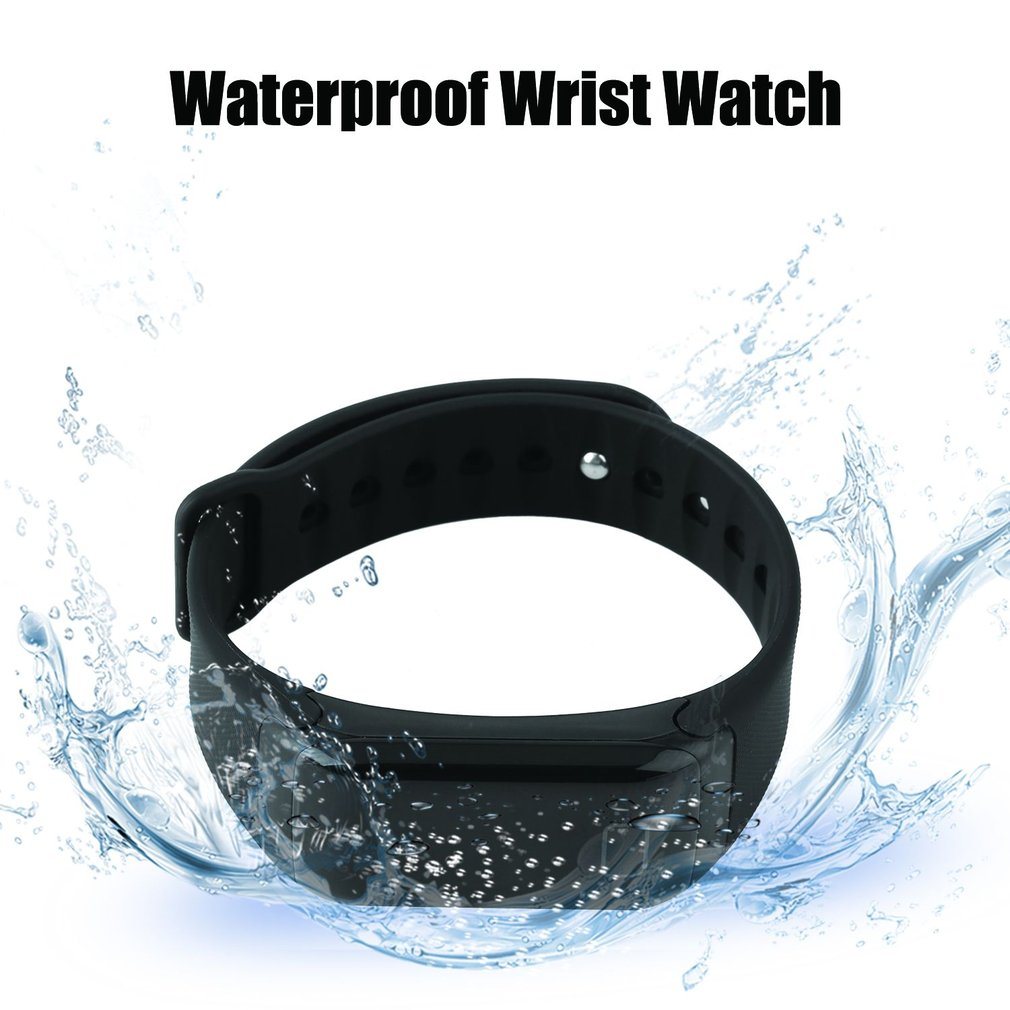 F1 Sweat-proof Smart Watch Sport Pedometer Waterproof Wrist Watch