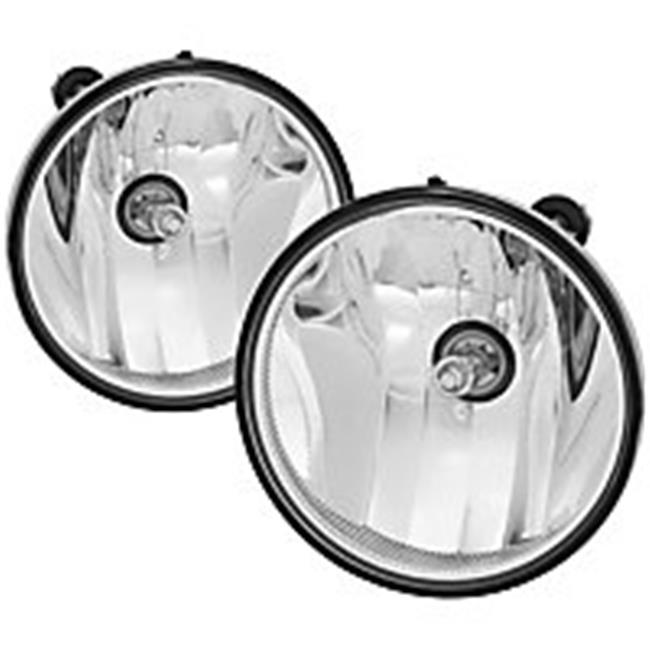 Auto Fog Lights with OEM Switch for 2007-2013 Chevy Avalanche, Clear