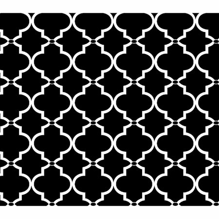 Springs Creative Cotton Blenders Tonal Lattice Black Fabric By The