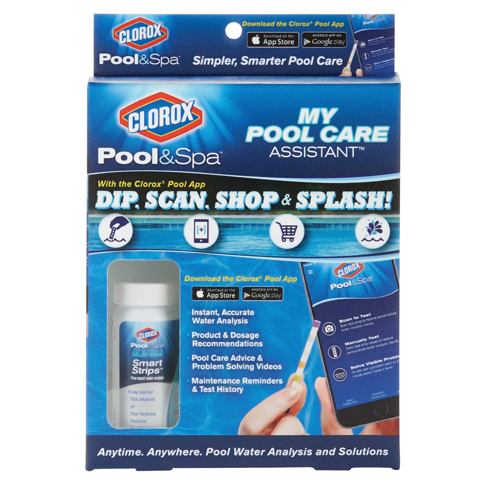 Clorox Pool and Spa My Pool Care Assistant Multi-Use Smart Strips