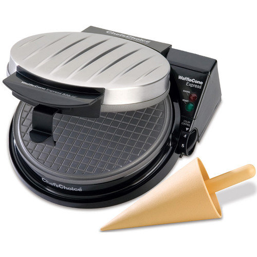 Chef's Choice Cone Waffle Maker with Rib Cover