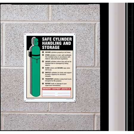 Accuform Signs Mcpg503vs Safety Sign Label  10 In  H  7 In  W