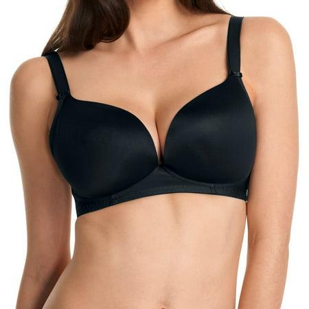 New Womens Freya Lingerie Deco Moulded Soft Cup Bra 4231 Black 28D
