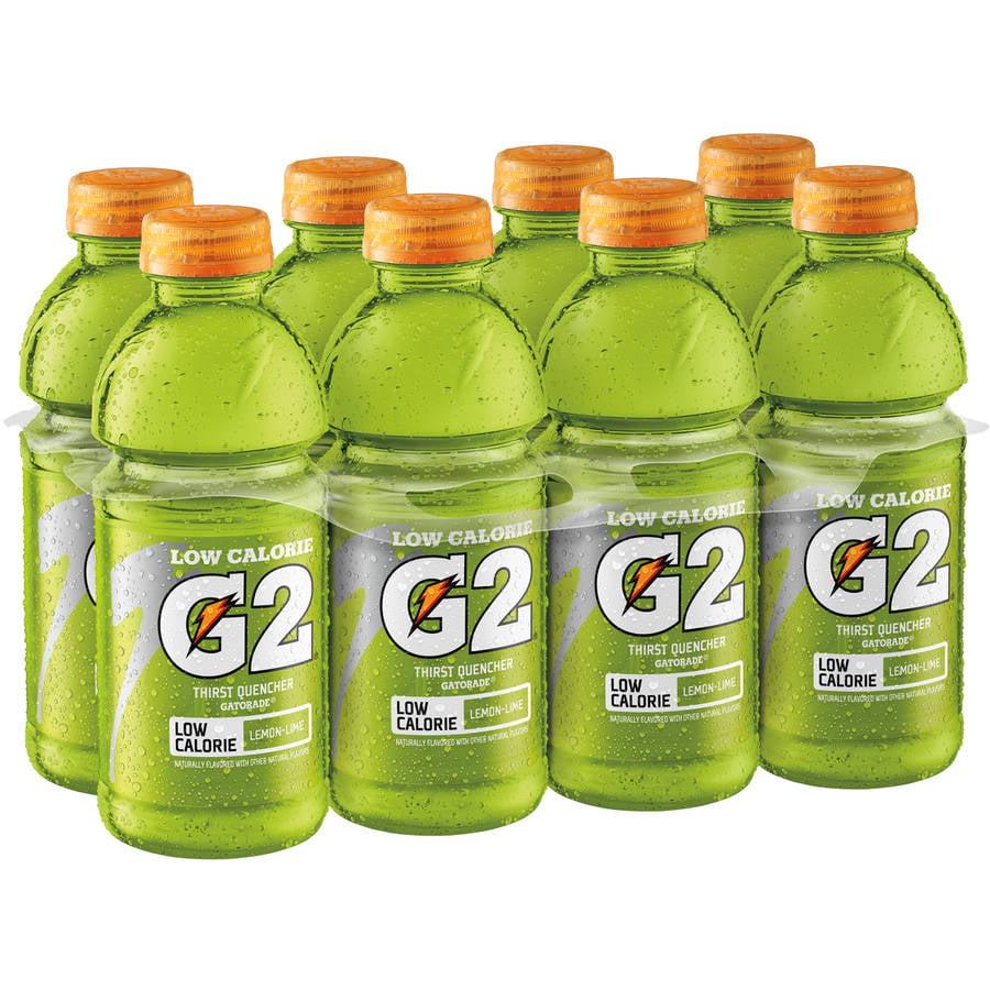 Gatorade G2 Low Calorie Lemon Lime Sports Drink, 8 Ct/160 Fl Oz