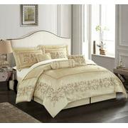 Vivian 7-Piece Comforter Set, Queen