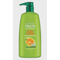 Garnier Conditioner, Frizzy, Dry, Unmanageable Hair, Fructis Sleek & Shine, 33.8 fl. oz.