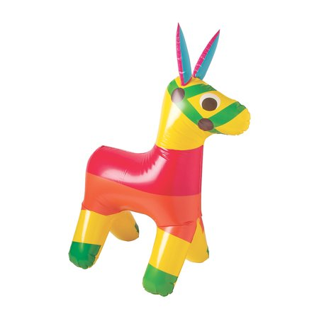 Cinco De Mayo Accessories (Fun Express - Fiesta Giant Inflate Pinata for Cinco de Mayo - Toys - Inflates - Inflatable Characters - Cinco de Mayo - 1)