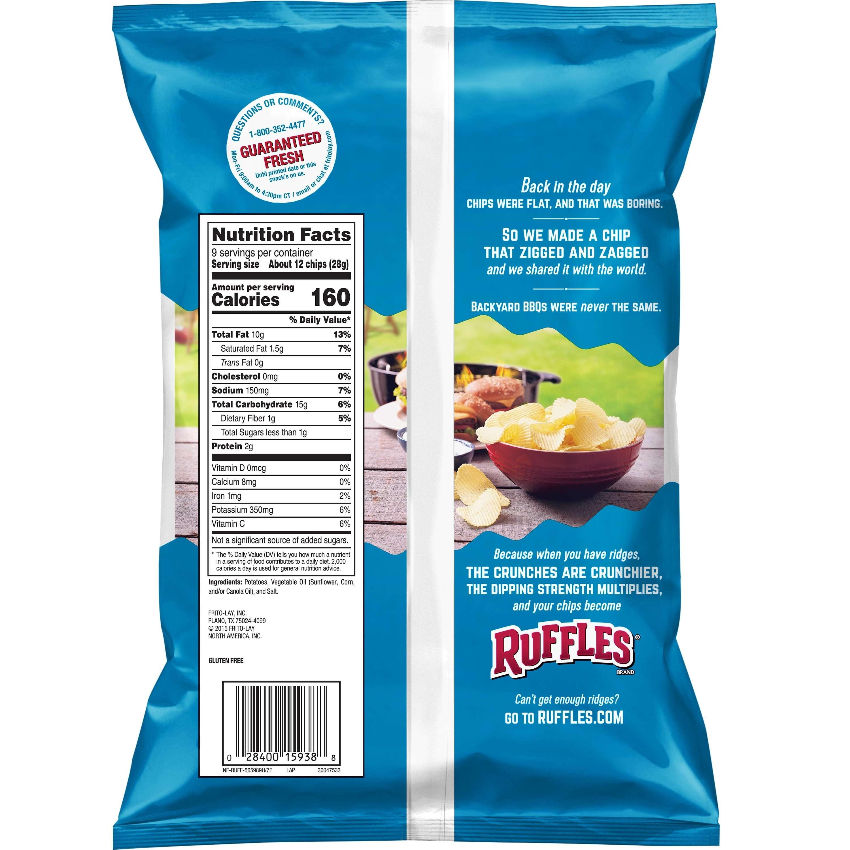 Ruffles Original Potato Chips 9 Oz