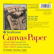 Strathmore Canvas Paper Pad, 300 Series, 6in x 6in