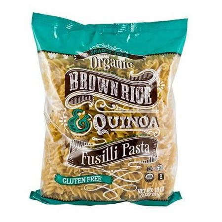 Low Fat Organic Brown Rice - Trader Joe's Organic Brown Rice & Quinoa Fusilli Pasta (Gluten Free)