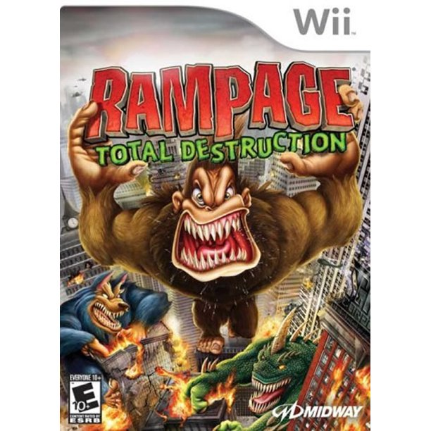 Rampage Total Destruction Wii Walmart Com Walmart Com