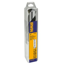 Irwin Hanson 91164 1 in. Silver & Deming High Speed Steel Fractional 1/2 in. Reduced Shank Drill Bit