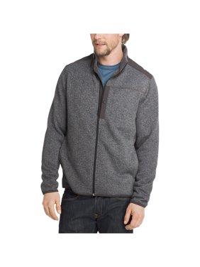 G.H. Bass & Co. Mens Herringbone Sweater Jacket