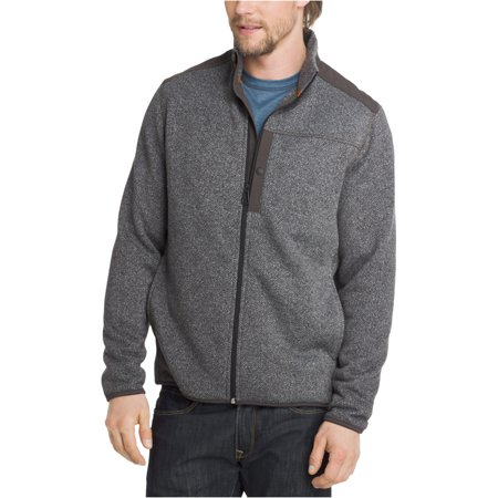 G.H. Bass & Co. Mens Herringbone Sweater Jacket Bass Mens Parka