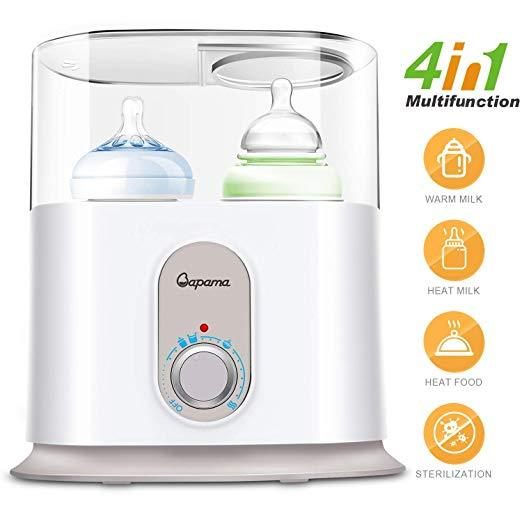 Baby Bottle Warmer, 4 in 1 Function with Automatical Power-Off,Precise Temperature Control and Fast... by bapama
