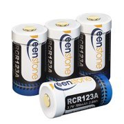 [4pcs]Arlo security camera batteries , 3.7V 700 mAh RCR123A Lithium-Ion Batteries and charger for Arlo Security Camera (VMC3030/3200/3230/3330/3430/3530), UL UN Certified