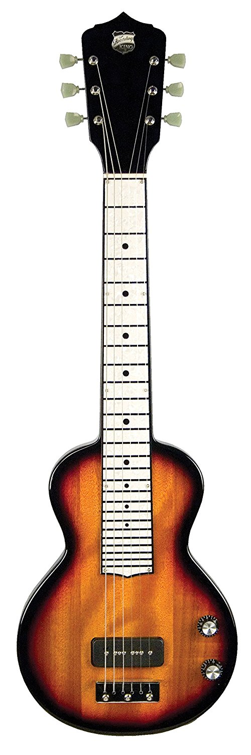 Recording King RG-32 Lap Steel Guitar, Pearloid Fingerboard, Sunburst Mahogany by Recording King
