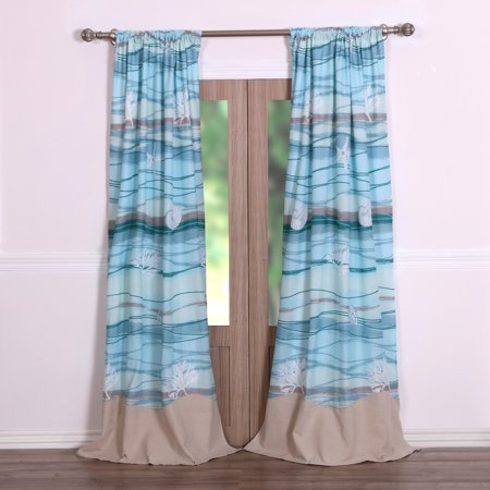 Global Trends Morro Bay Curtain Panel, Set of 2 ()