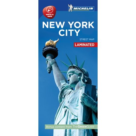 Michelin new york city map - laminated - folded map: -