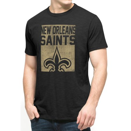 New orleans saints nfl 47 brand vintage legacy logo for T shirt printing new orleans