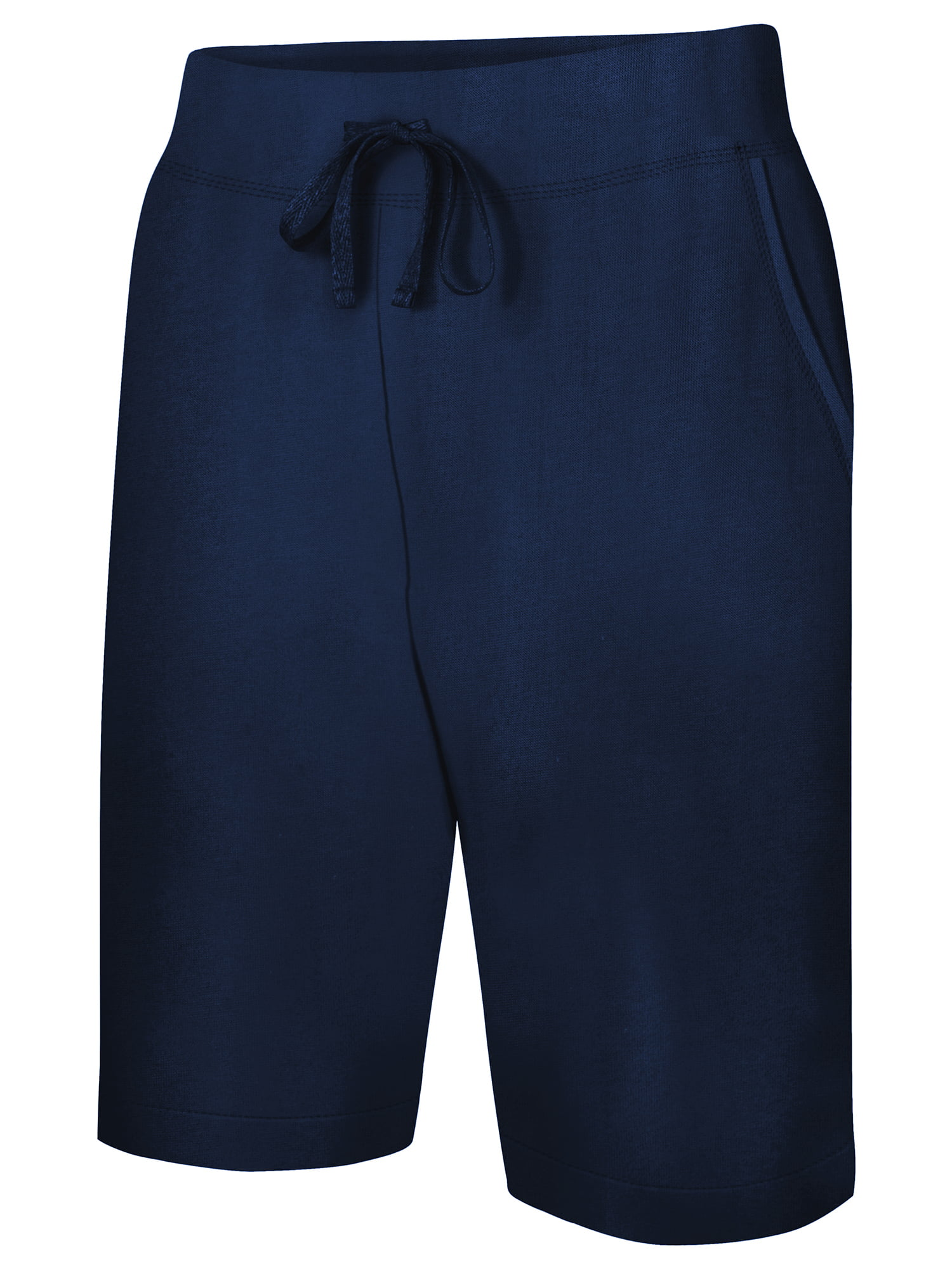 1f70372a0c Women's 11 French Terry Bermuda Short with Pockets - Walmart.com