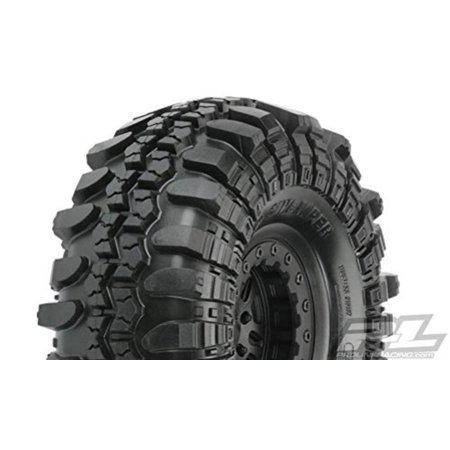 Interco TSL SX Super Swamper XL 2.2 G8, Mounted FaultLine Black (2) 15 Super Swamper Bogger Tire