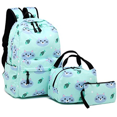 5a39dfe63226 BLUBOON Backpack for School Girls Teens Bookbag Set Water Resistant ...