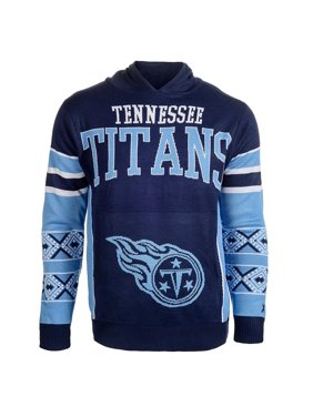Product Image Forever Collectibles NFL Men s Tennessee Titans Big Logo  Hooded Sweater e4ec65585