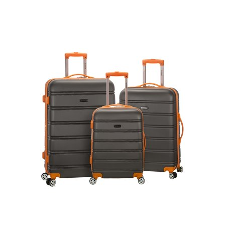 Rockland Luggage Melbourne 3 Piece Hardside Luggage
