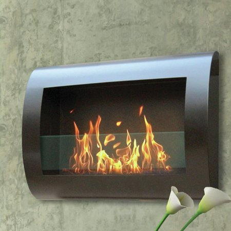 Anywhere Fireplace Chelsea Wall Mounted Bio Ethanol Fireplace