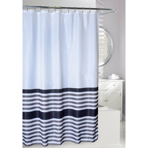 Moda At Home Bridge Stripe Shower Curtain