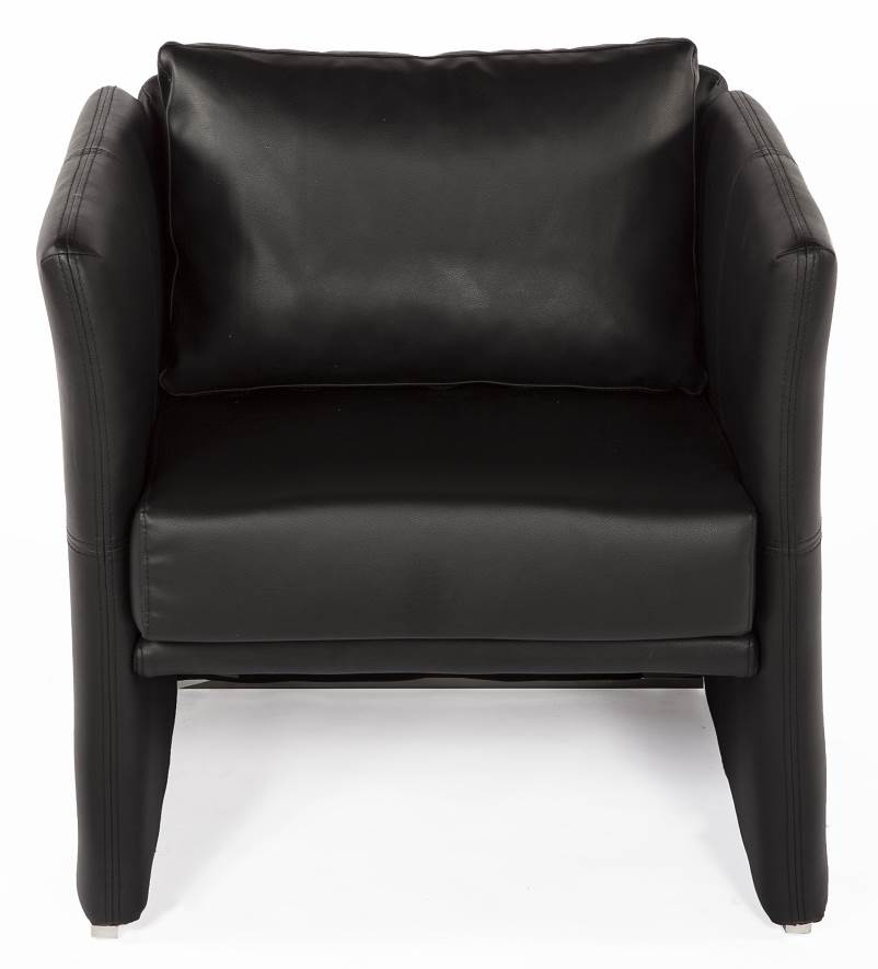 The Ullerslev Lounge Chair in Black