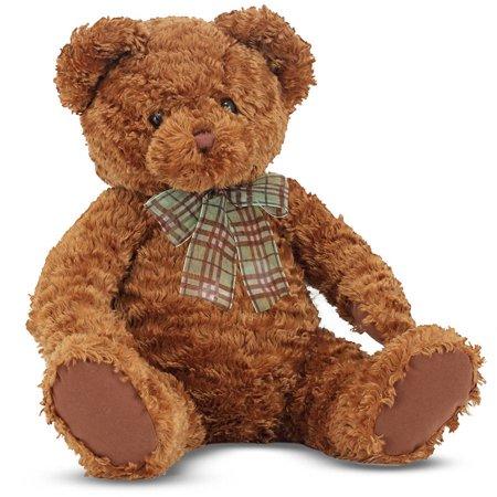 Melissa & Doug Chestnut - Classic Teddy Bear Stuffed Animal for $<!---->