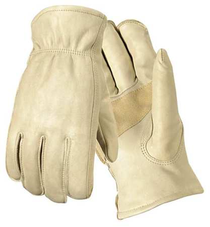 Wells Lamont 1130M Cowhide Leather Gloves, Tan