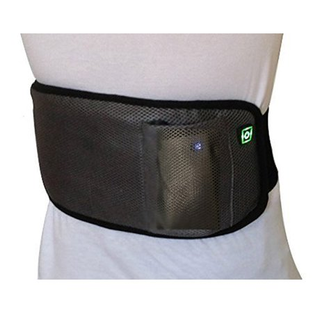 BriteLeafs Far Infrared Therapeutic Rechargeable Cordless Pain Relief Heating Wrap / Heating pad - Cordless , Rechargeable , Portable , Heat Lasts 2 - 3