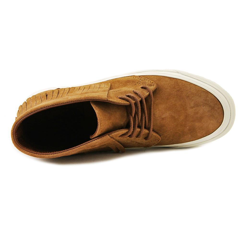 7e47c86ec54bf3 Vans - Vans Chukka Moc DX Women Round Toe Suede Tan Sneakers - Walmart.com