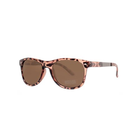 Kenneth Cole Reaction Plastic Frame Light Brown Lens Ladies Sunglasses (Kenneth Cole Sunglasses For Women)