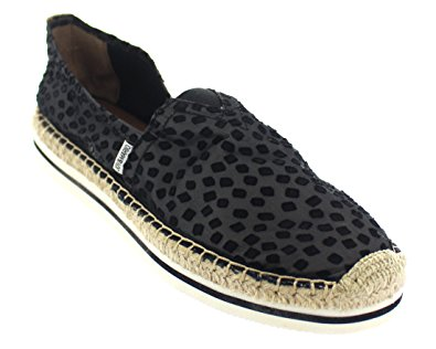 Joy & Mario Women's Shoes Lingerie Sport Espadrille Flats Black