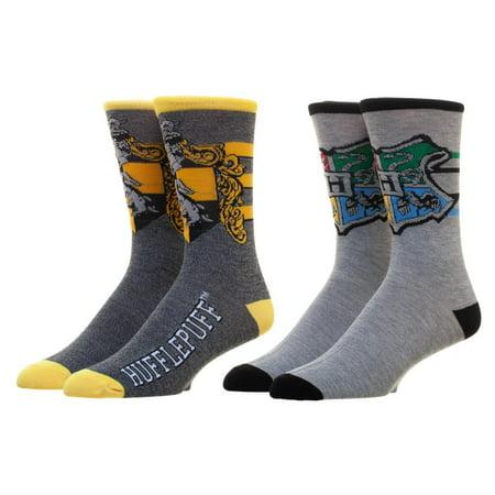 Harry Potter Hufflepuff Men's Crew - Hufflepuff Socks