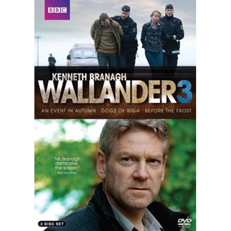 Wallander 3: Event In Autumn / Dogs of Riga / Before the Frost (DVD) ()