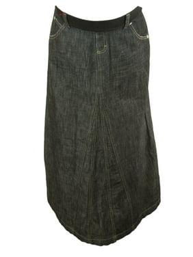 d6852722c7f68 Product Image Elly B by OLIAN Maternity Women's Denim Maxi Skirt Sz X-Small  Medium Wash