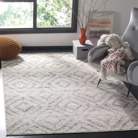 Safavieh Adirondack Lecia Geometric Area Rug or Runner Neutrals 8 Square Area Rug