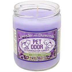 Pet Candle - Pet Odor Exterminator Candle  - Lavender with Chamomile Jar (13 oz)