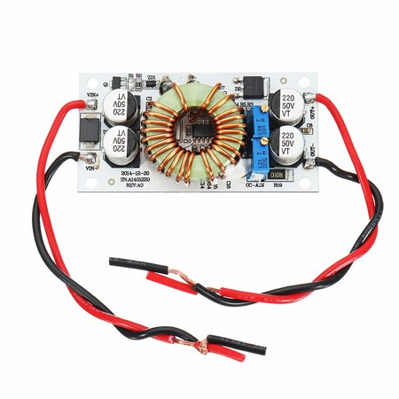 DC-DC 8.5-48V To 10-50V 10A 250W Continuous Adjustable High Power Boost Power Module Constant Voltage Constant Current Non-Isolation Step Up Board For Vehicle Laptop Power LED Driv
