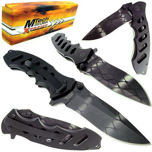 MTECH XTREME USA MX-8027A TACTICAL FOLDING KNIFE 5' CLOSED