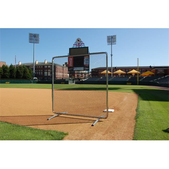 Trigon Sports B427720N ProCage 1st Base-Fungo Replacement Net 7 ft.  x 7 ft