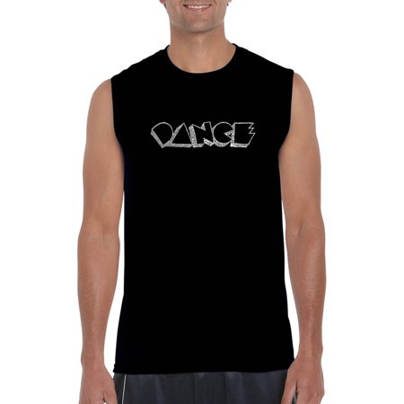 Men's sleeveless t-shirt - different styles of (Different Men's Styles)