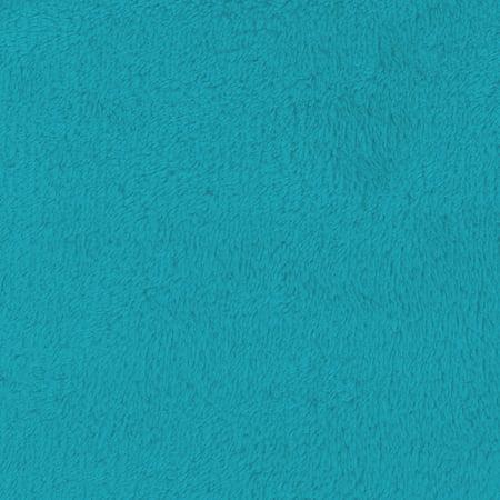 SHASON TEXTILE (2 Yards cut) SOFT CORAL FLEECE SOLID, MALIBU.