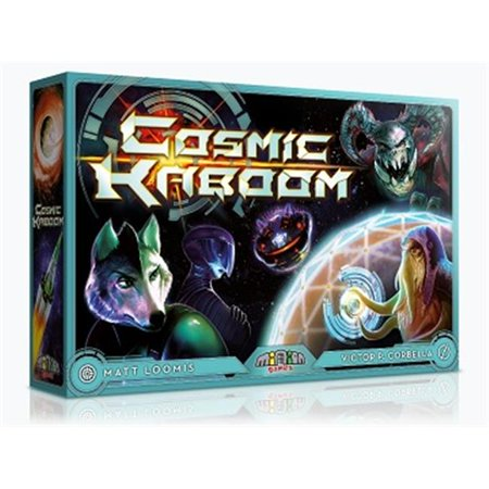 Minion Games Cosmic KaBoom Board Game 2007 Spx Game